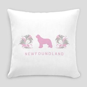 13-pinkgray Everyday Pillow