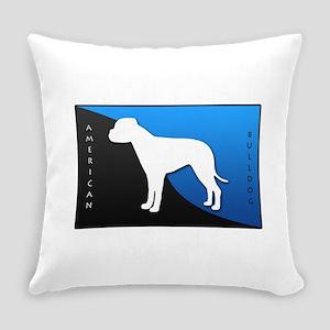 blueblack Everyday Pillow