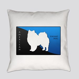 2-blueblack Everyday Pillow