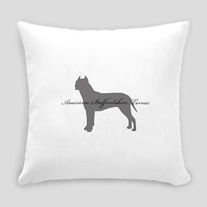 9-greysilhouette Everyday Pillow