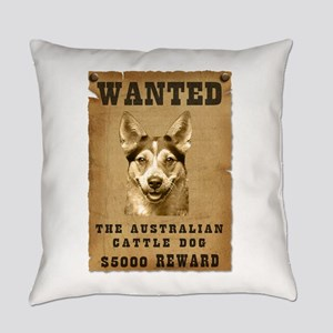 11-Wanted _V2 Everyday Pillow