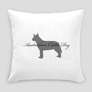 11-greysilhouette Everyday Pillow
