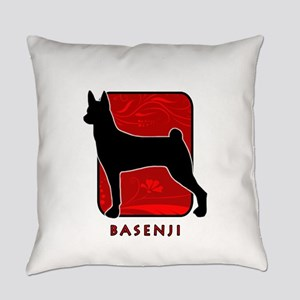11-redsilhouette Everyday Pillow