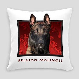 10-redblock Everyday Pillow