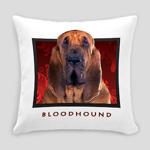 11-redblock Everyday Pillow