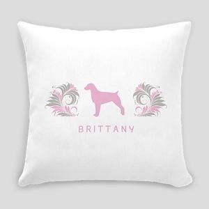 34-pinkgray Everyday Pillow