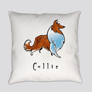 2-illustrated Everyday Pillow
