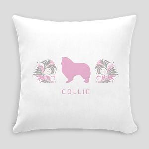 19-pinkgray Everyday Pillow