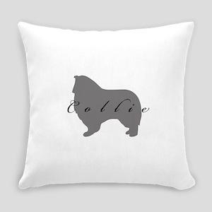 42-greysilhouette Everyday Pillow