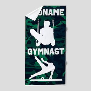 Top Notch Gymnast Beach Towel