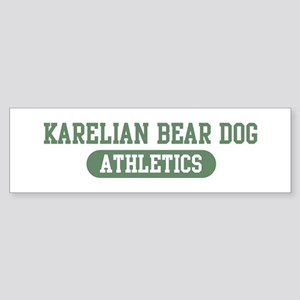 Karelian Bear Dog athletics Bumper Sticker