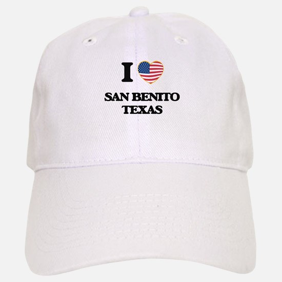 I love San Benito Texas Baseball Baseball Cap