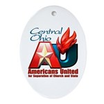 Americans United Ohio Oval Ornament