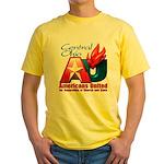 Americans United Ohio Yellow T-Shirt