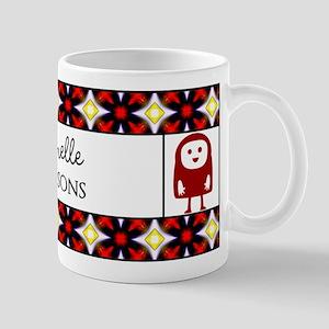 Cute Little Monster Personalized Mug