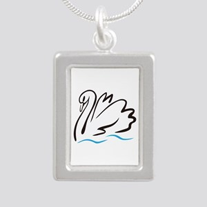 Swan Outline Necklaces