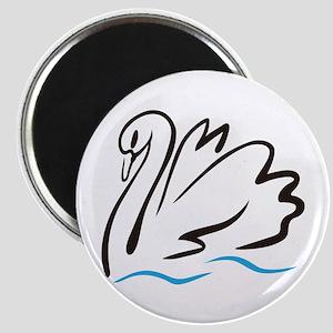 Swan Outline Magnets
