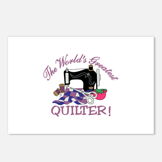 The Worlds Greatest Quilter Postcards (Package of