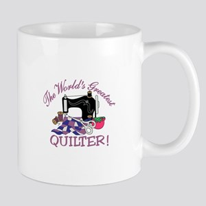 The Worlds Greatest Quilter Mugs