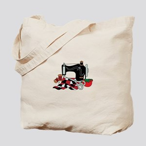 Sewing Machine and Quilt Tote Bag
