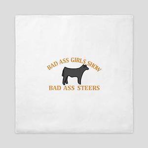 Bad Ass Girls Queen Duvet
