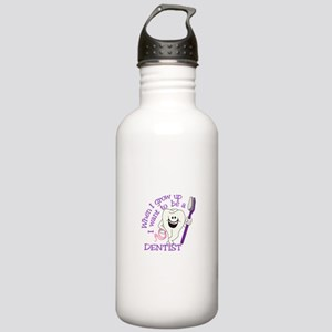 When I Grow Up Water Bottle