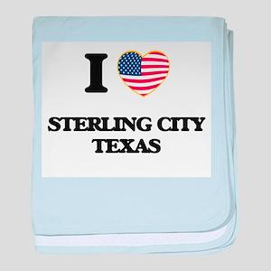 I love Sterling City Texas baby blanket