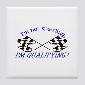 Im not Speeding Tile Coaster