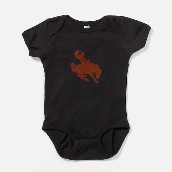 Bronco with Rider Baby Bodysuit