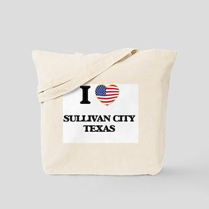 I love Sullivan City Texas Tote Bag