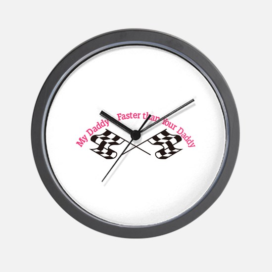 Daddys Faster Wall Clock