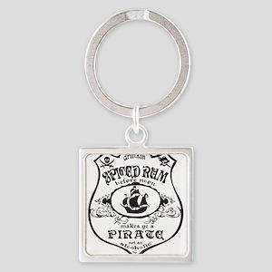 Vintage Pirate Spiced Rum Keychains