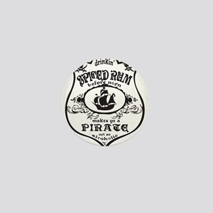 Vintage Pirate Spiced Rum Mini Button