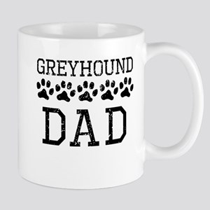 Greyhound Dad (Distressed) Mugs