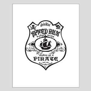 Vintage Pirate Spiced Rum Posters
