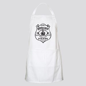 Vintage Pirate Spiced Rum Apron