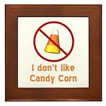 Candy Corn Framed Tile