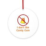 Candy Corn Ornament (Round)
