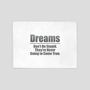 Dreams - Gray 5'x7'Area Rug