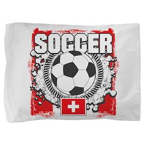 Switzerland Soccer Pillow Sham