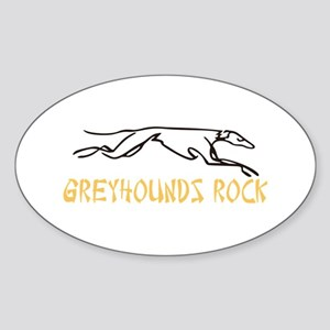 Greyhounds Rock Sticker