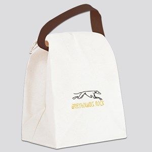 Greyhounds Rock Canvas Lunch Bag