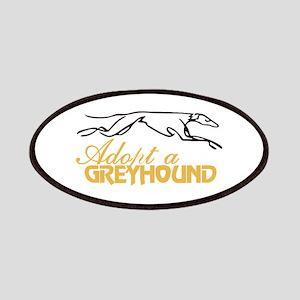 Adopt a Greyhound Patch