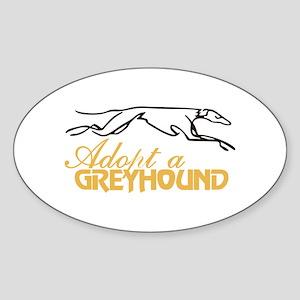 Adopt a Greyhound Sticker