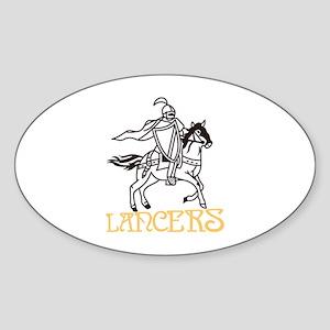 Lancers Sticker