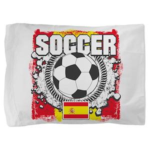 Spain Soccer Pillow Sham