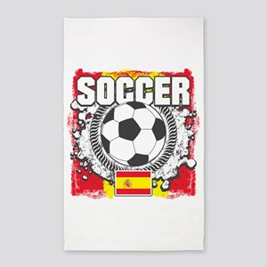Spain Soccer Area Rug