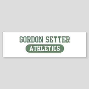 Gordon Setter athletics Bumper Sticker