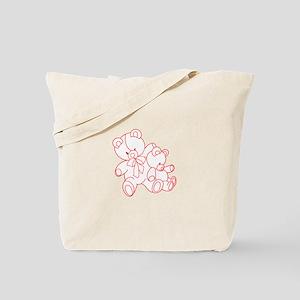 Bear Buddies Ragwork Tote Bag