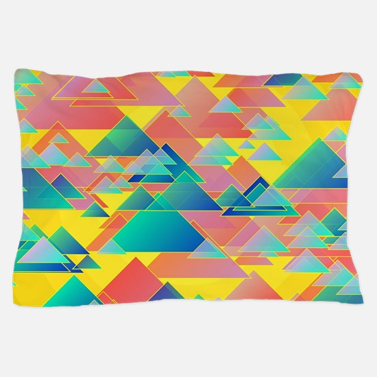 Random triangles Pillow Case